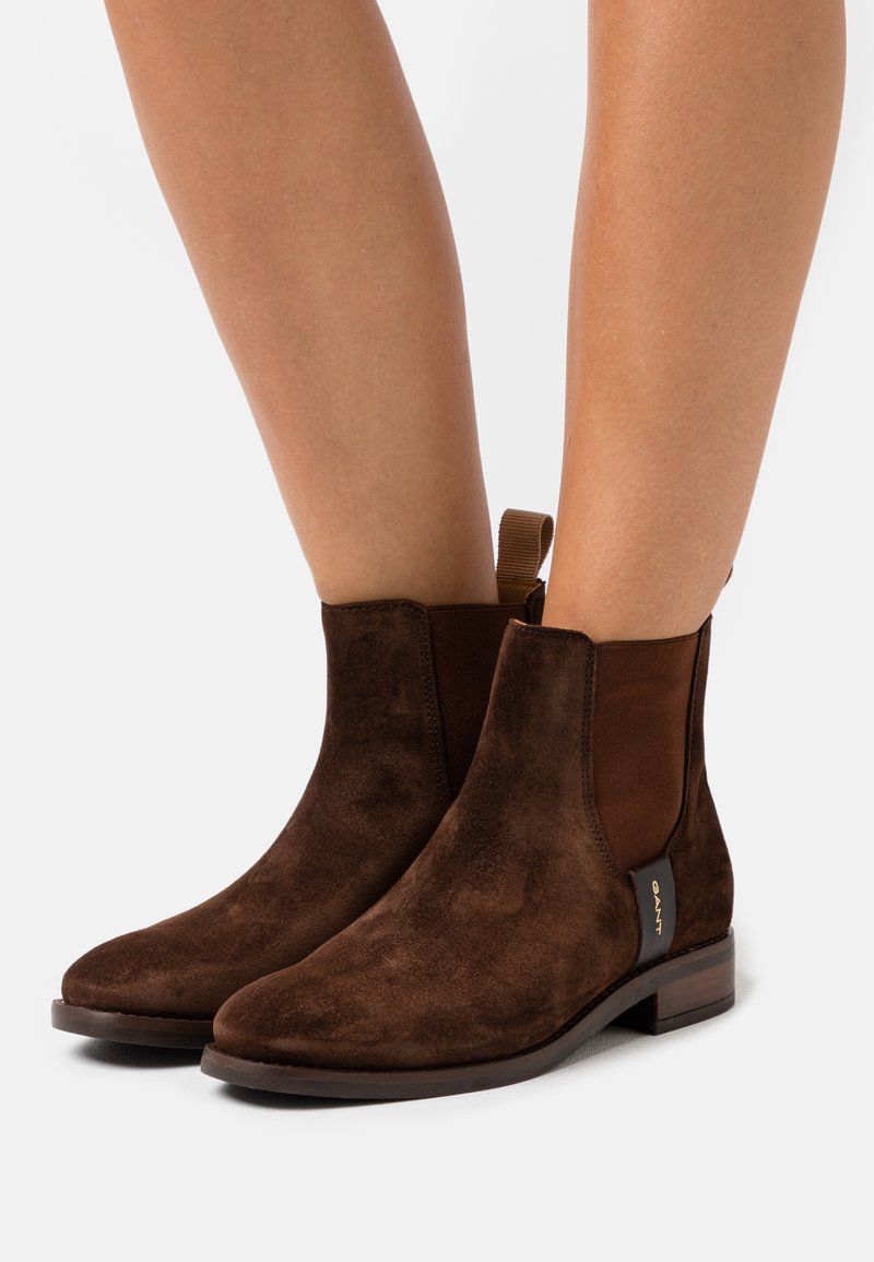 GANT - FAYY CHELSEA - Classic ankle boots - dark brown