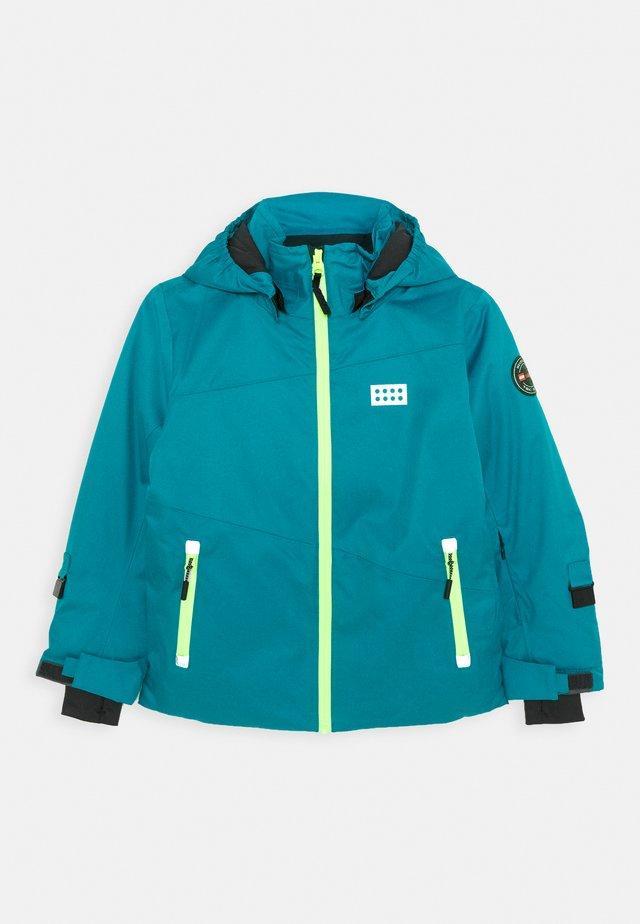 JOSHUA 700 JACKET UNISEX - Snowboardjas - dark turquoise