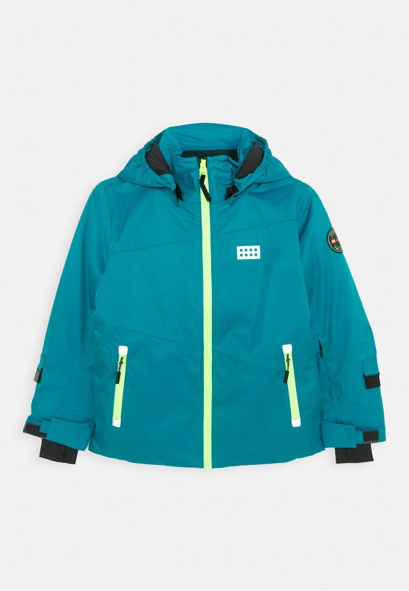 LEGO Wear - JOSHUA 700 JACKET UNISEX - Snowboardová bunda - dark turquoise