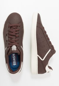 K-SWISS - CLEAN COURT - Trainers - french roast/egret - 1