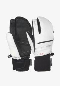 Reusch - TOMKE STORMBLOXX™ LOBSTER - Mittens - white / black - 0