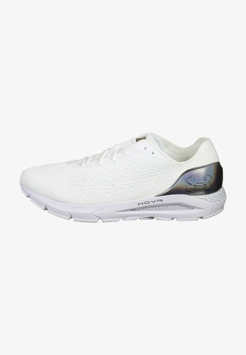 Under Armour - HOVR SONIC 3 - Zapatillas de running neutras - white / metallic gun metal