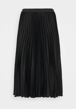 CARDINE - Pleated skirt - black