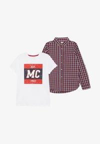 mothercare - CHECK TEE SET - Košile - multi - 4