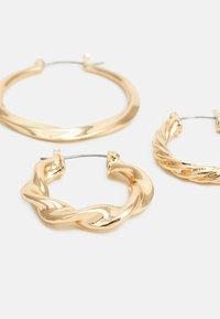 LIARS & LOVERS - MOTLEN HOOP 3 PACK - Pendientes - gold-coloured - 3