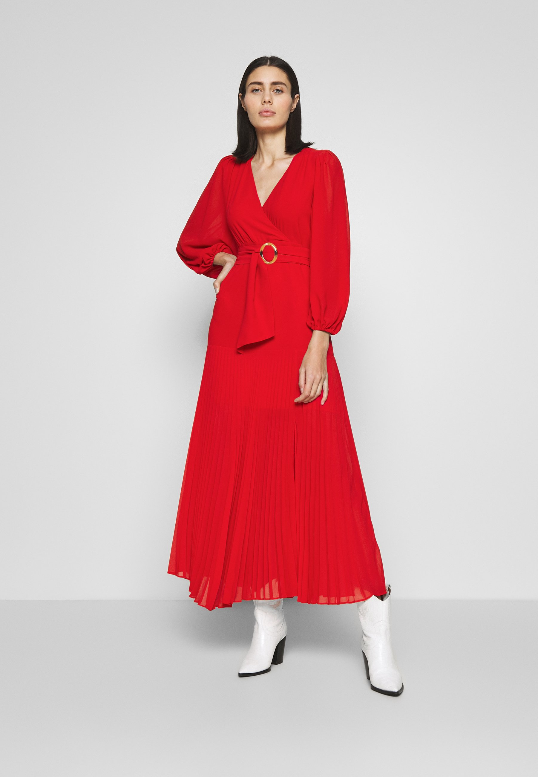 Bardot DAYTONA DRESS - Robe d'été - lipstick red - Robes femme bYiLf