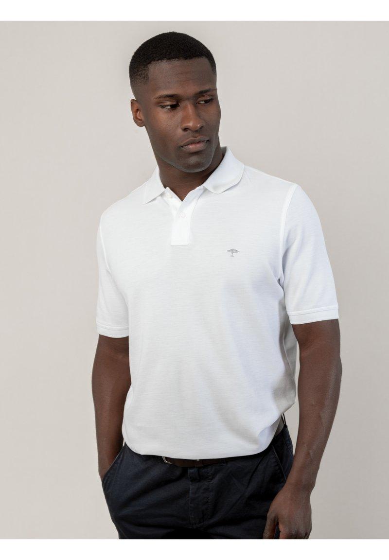 Fynch-Hatton - SUPIMA  - Polo shirt - white