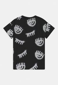 CHIARA FERRAGNI - T-SHIRT KIDS SPRAY - Print T-shirt - black - 1