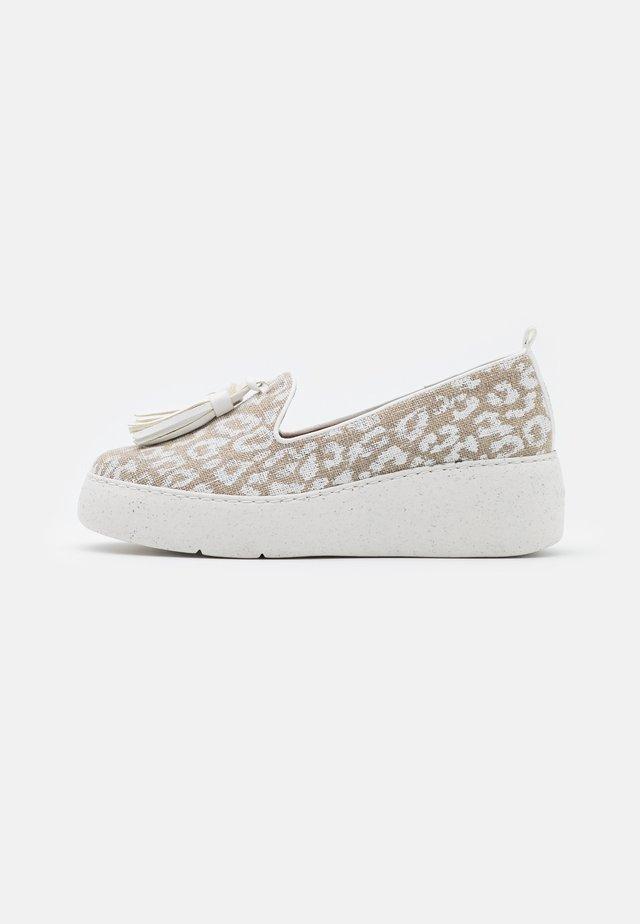 Platform heels - blanco