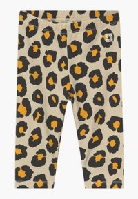Lindex - LEO AND MONKEY 2 PACK - Leggings - Trousers - light beige - 1