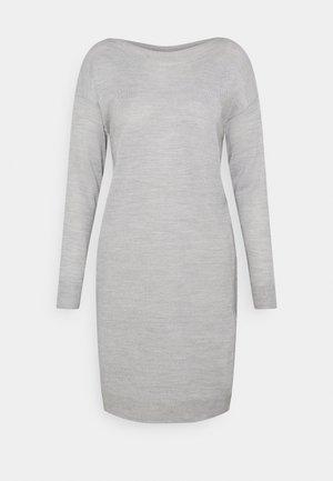 ONLAMALIA DRESS - Jumper dress - light grey