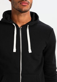 YOURTURN - Zip-up hoodie - black - 3