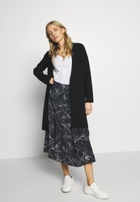 Marc O'Polo PURE - TIE SKIRT - A-snit nederdel/ A-formede nederdele - multi/dark blue - 1