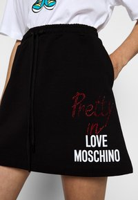 Love Moschino - A-line skirt - black - 5