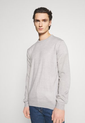 CREW - Strickpullover - grey