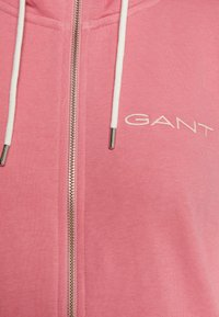 GANT - STRIPES FULL ZIP HOODIE - veste en sweat zippée - chateau rose - 2