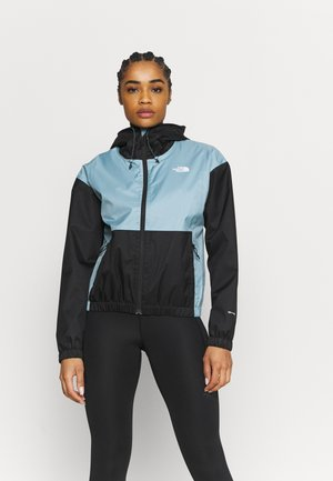 FARSIDE JACKET - Waterproof jacket - tourmaline blue/black