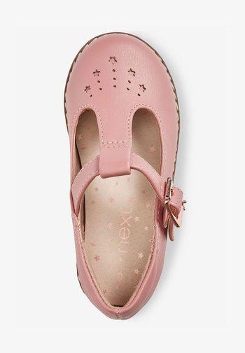 STAR CHARM - Ankle strap ballet pumps - pink