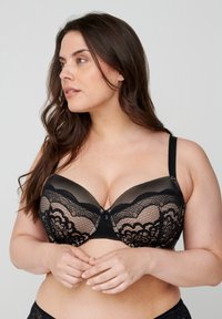 Devoted By Zizzi - Underwired bra - sand - 0