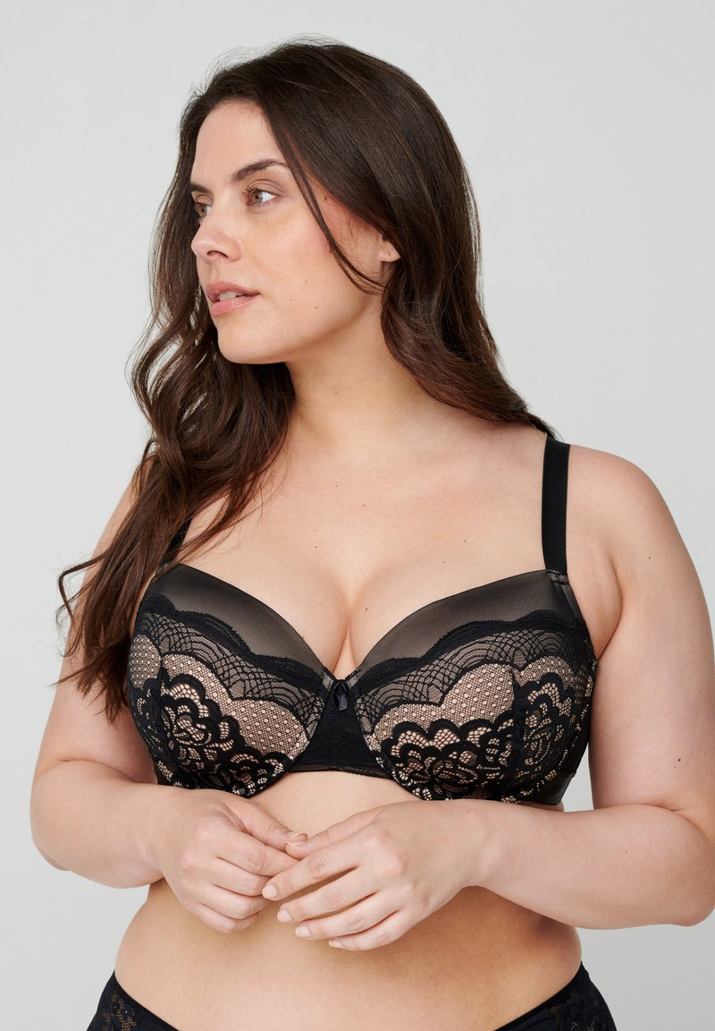 Devoted By Zizzi - Underwired bra - sand