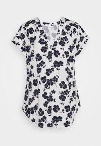 GAP - T-shirts med print - navy white floral - 0
