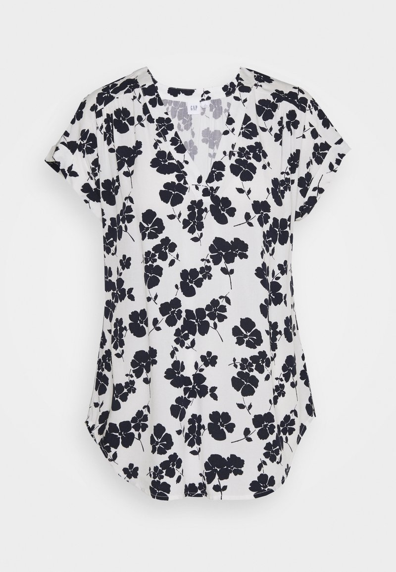 GAP - T-shirts med print - navy white floral