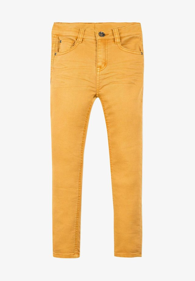 Jeans Skinny Fit - mustard