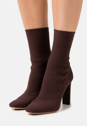 DELYLAH - Classic ankle boots - dark brown