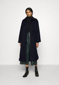 Weekday - BOEL COAT - Classic coat - navy - 1