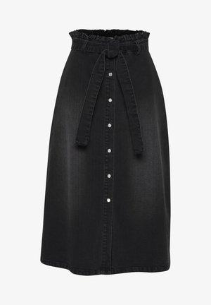 A-line skirt - washed black