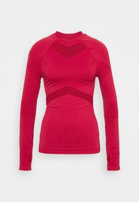 NU-IN - COMPRESSION  - Long sleeved top - red - 4