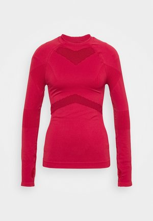 COMPRESSION  - Long sleeved top - red