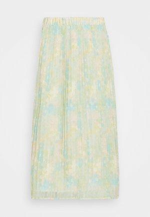 SLFGEORGIA PLISSE SKIRT  - Pleated skirt - young wheat
