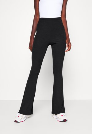 2 PACK FINE TROUSERS - Trousers - black