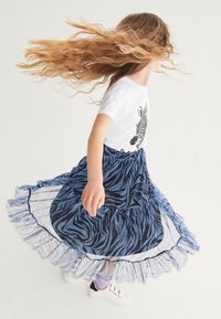 Next - Pleated skirt - blue - 2