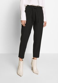 comma - TROUSERS - Trousers - black - 0