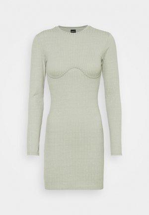 MARIA DRESS - Gebreide jurk - desert sage