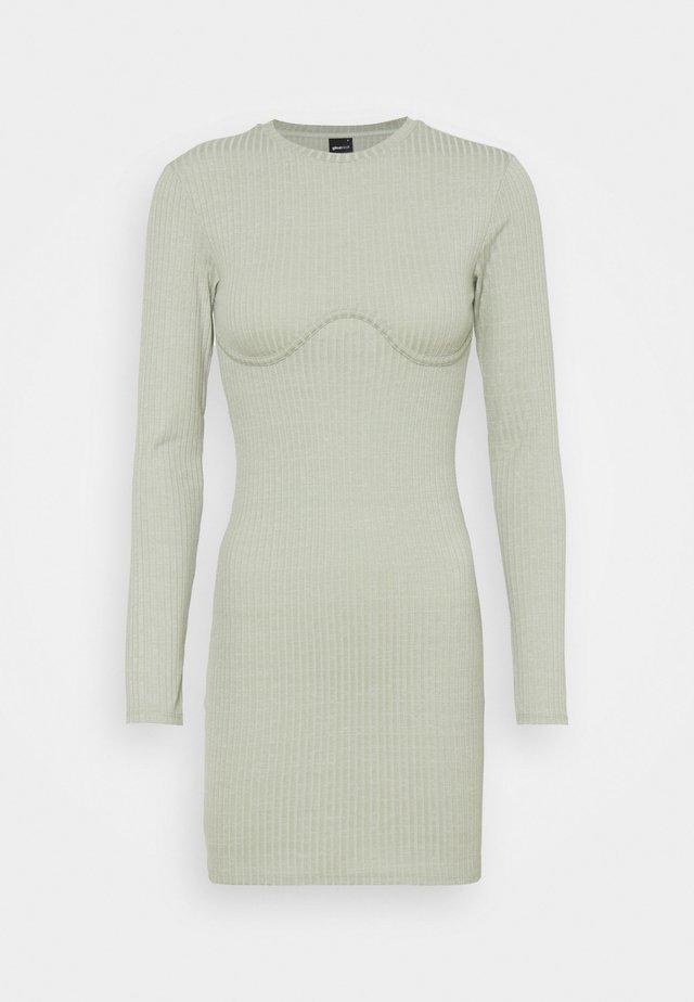 MARIA DRESS - Robe pull - desert sage