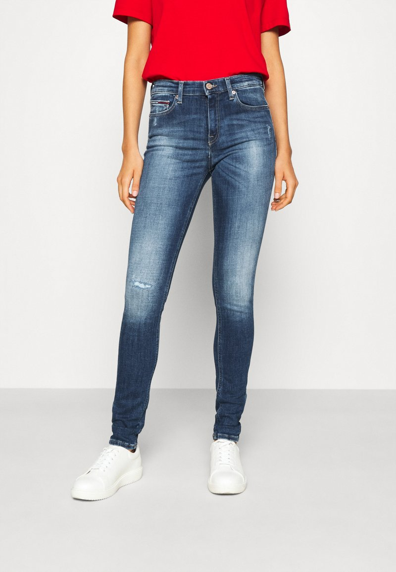 Tommy Jeans - NORA - Jeans Skinny Fit - mid blue