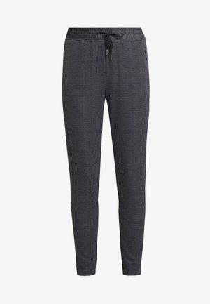 TROUSERS - Teplákové kalhoty - grey/black