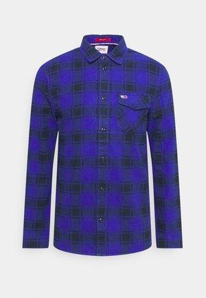 PLAID SHIRT - Camicia - court blue