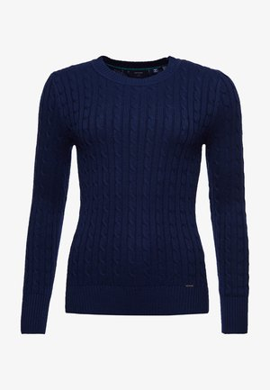CROYDE - Pullover - rich navy