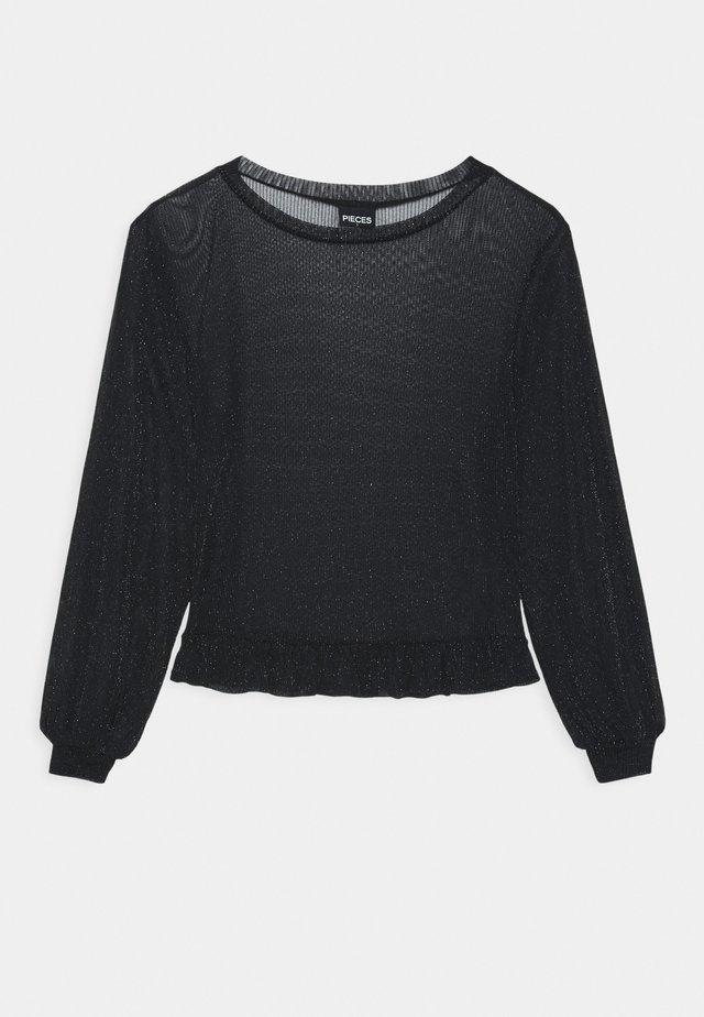 PCZUA - Pitkähihainen paita - black