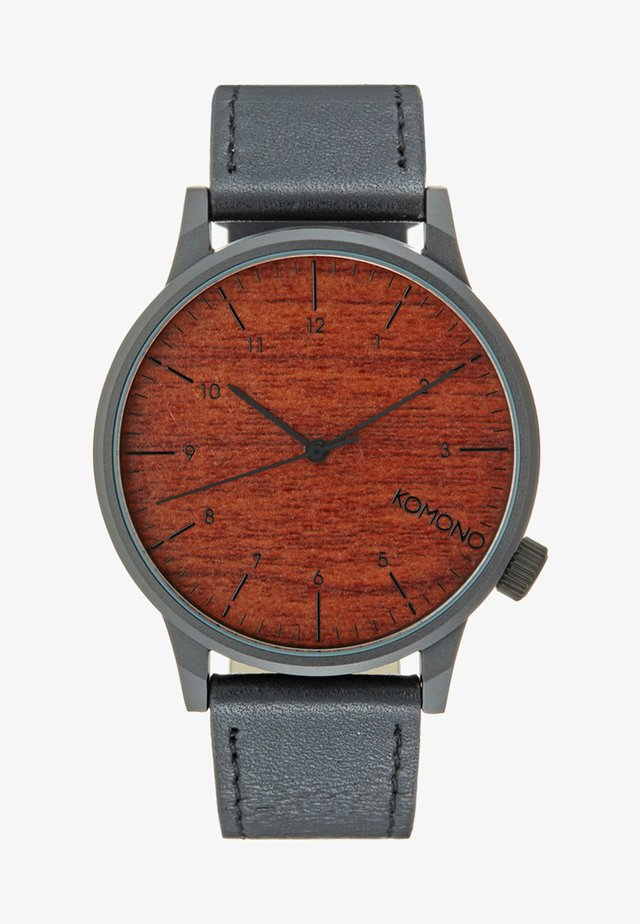 WINSTON - Zegarek - black wood