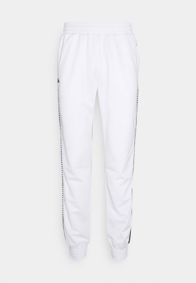 INGVALDO - Tracksuit bottoms - bright white