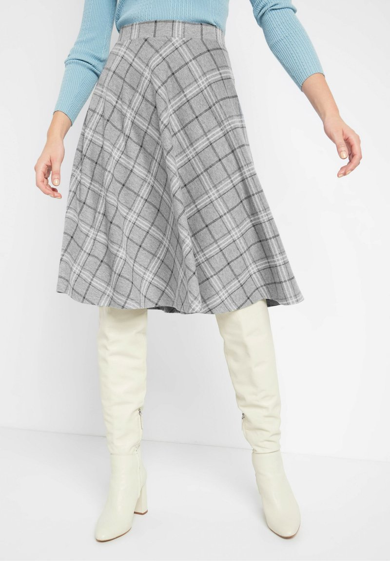 ORSAY - Pleated skirt - grau