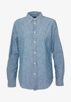 CHAMBRAY GEORGOA - Button-down blouse - indigo