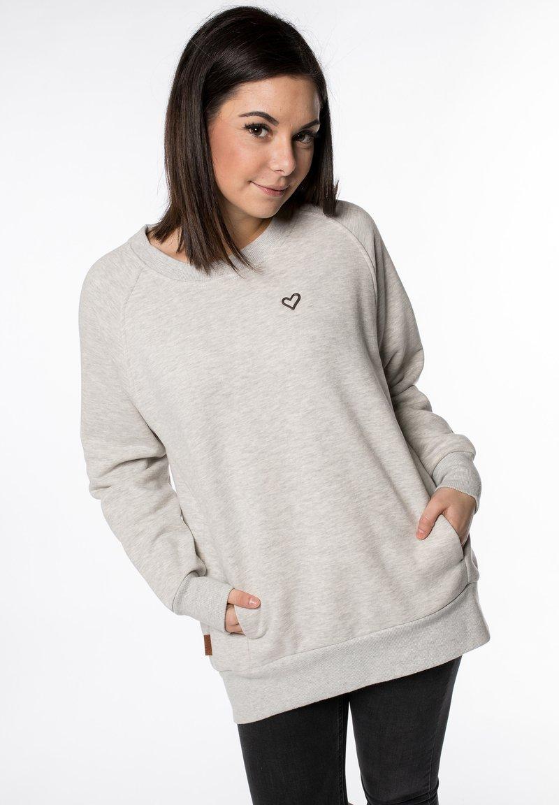 alife & kickin - HELEN  - Sweatshirt - white