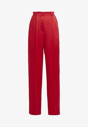 TALICIS TROUSER - Pantalon classique - rita red