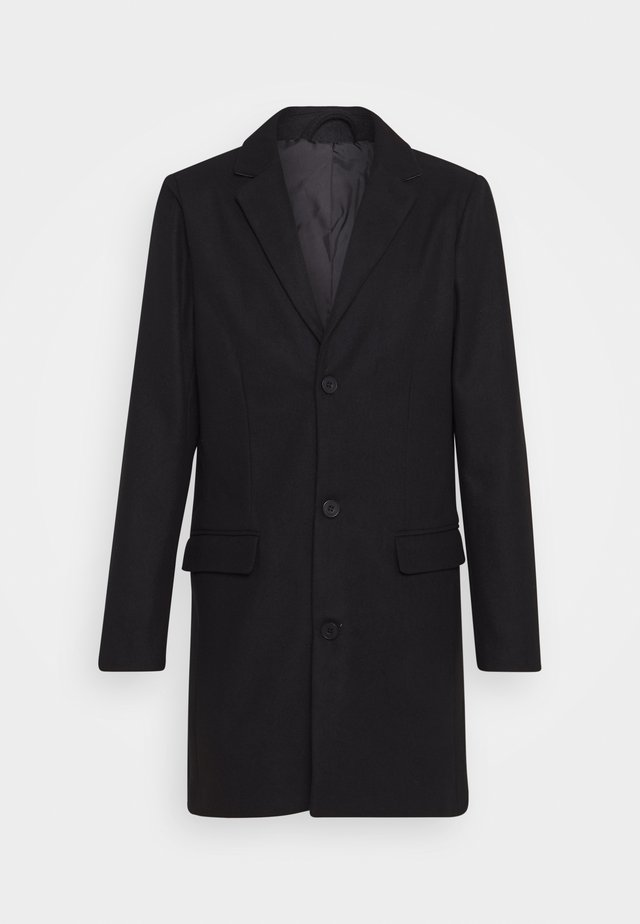SINGLE BREATED COAT - Abrigo - black